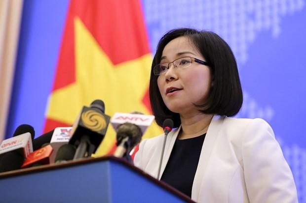 外交部副发言人阮芳茶:东海上的油气合作需符合1982年《联合国海洋法公约》 hinh anh 1