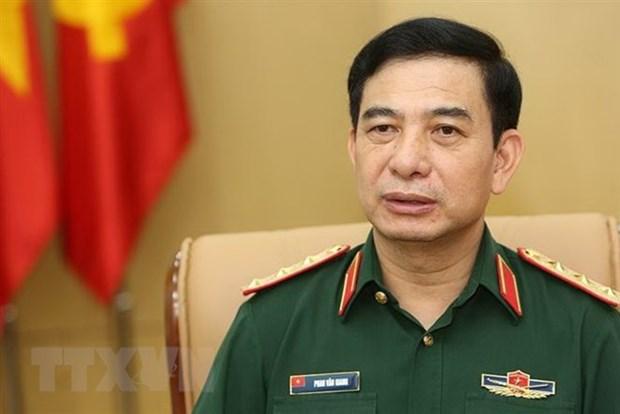 潘文江上将率领越南人民军高级军事代表团访问泰国 hinh anh 1