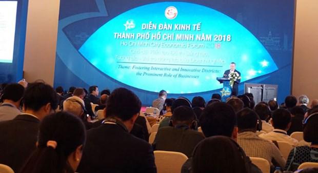 2018年胡志明市经济论坛拉开序幕 hinh anh 1