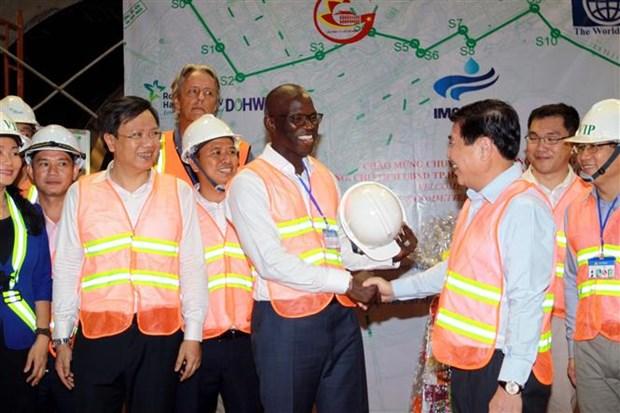 世行承诺支持胡志明市开展环境卫生工程项目 hinh anh 2