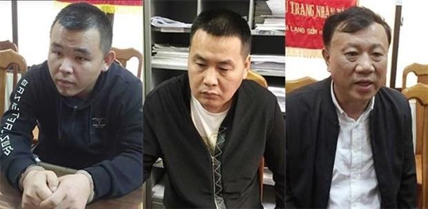 越南协助中国逮捕三名国际通缉犯 hinh anh 1