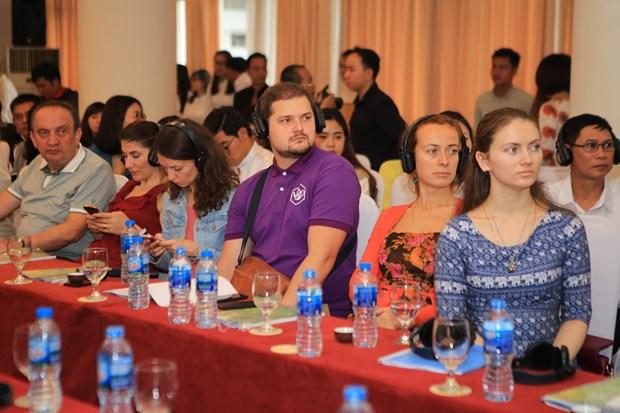 承天顺化省茶艺大师比赛吸引15个国家代表参加 hinh anh 2
