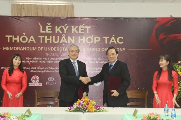 扩大医疗领域的国际合作 hinh anh 1