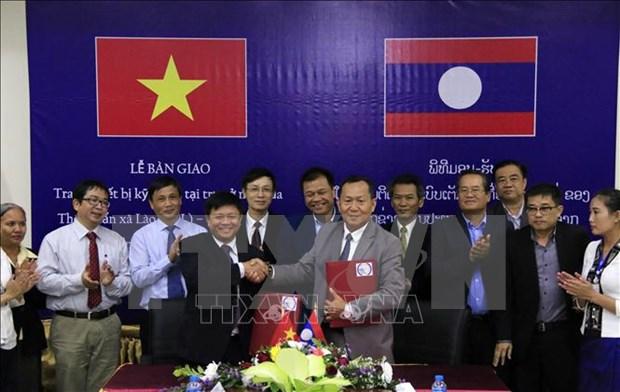 越南通讯社与老挝通讯社——培育越老特殊关系的桥梁 hinh anh 1