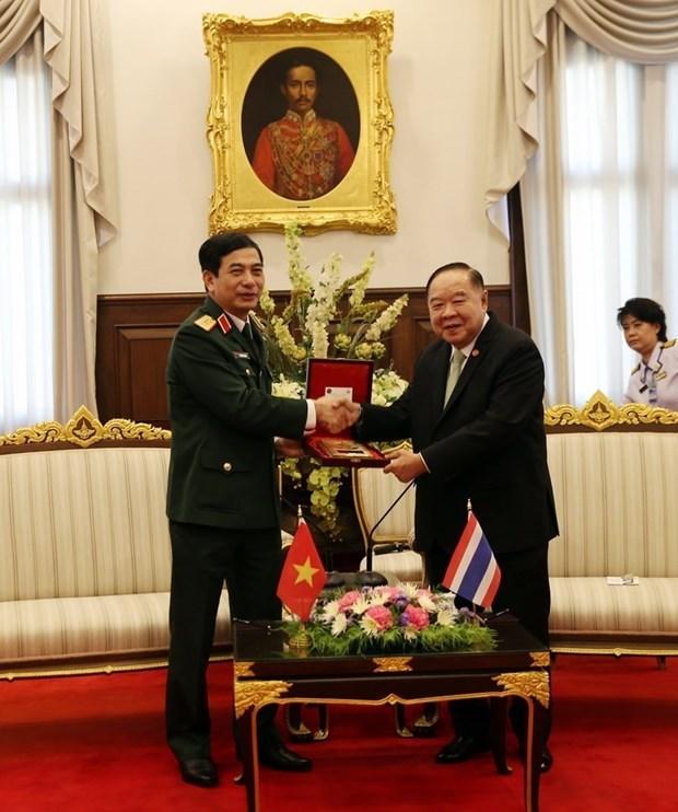 越南与泰国促进防务合作 hinh anh 2