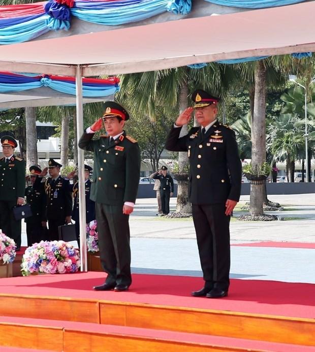 越南与泰国促进防务合作 hinh anh 1