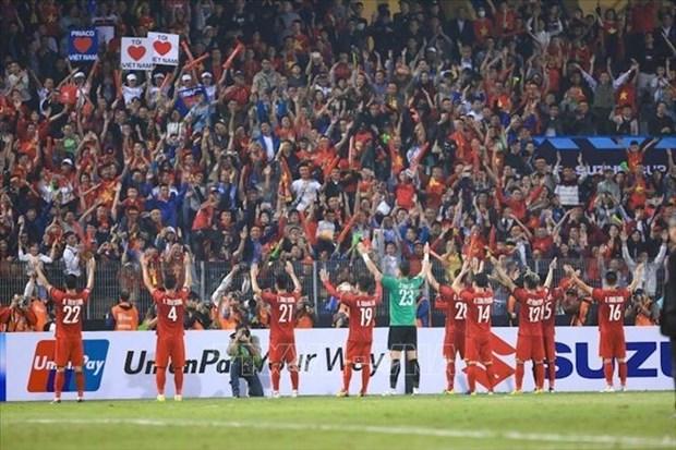 AFF SUZUKI CUP 2018:国际媒体高度评价越南的胜利 hinh anh 1