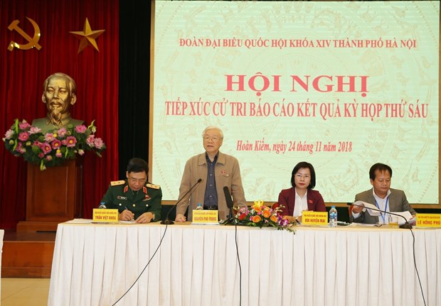 河内市选民:越南第十四届国会第六次会议结果令人印象深刻 hinh anh 2