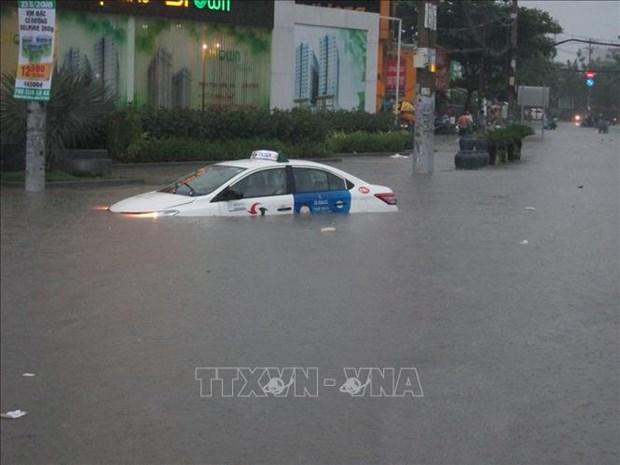 受第九号台风影响的胡志明市等省市多所学校停课 多架航班受影响 hinh anh 1