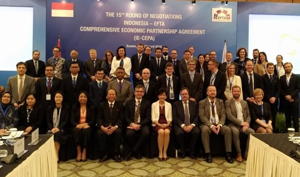 印尼与EFTA的自由贸易协定将在今年内签署 hinh anh 1
