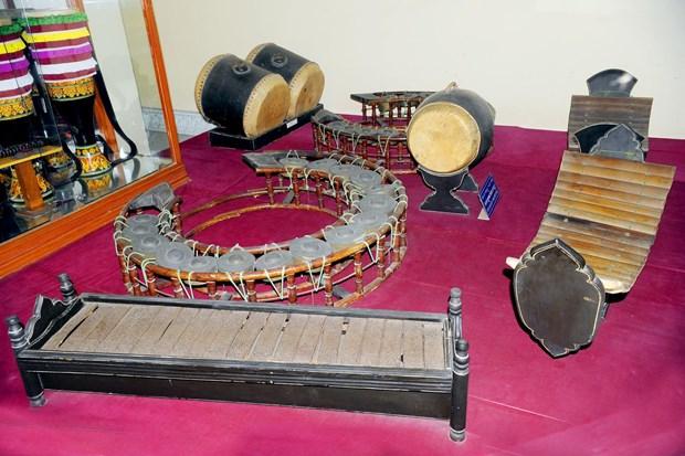 平福省努力保护与弘扬高棉族传统五音乐器价值 hinh anh 1