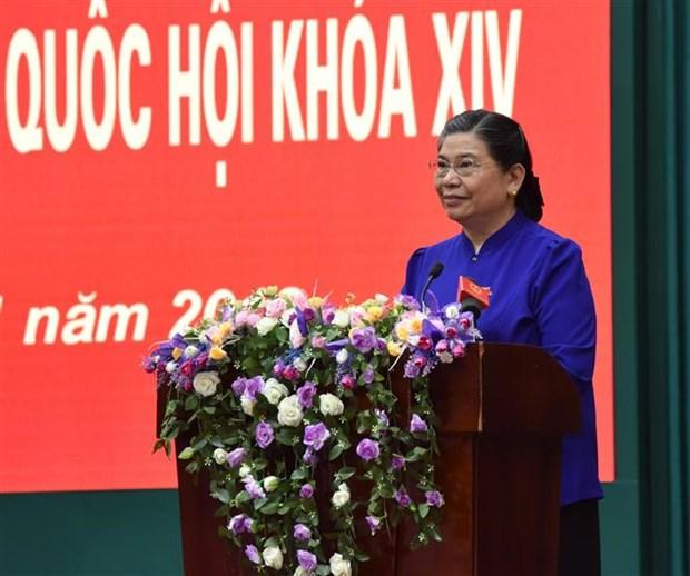 党和国家领导开展选民接待活动 hinh anh 1