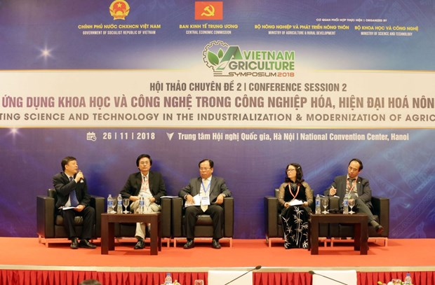推动农业农村科技应用的研讨会在河内举行 hinh anh 1