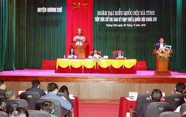 党和国家领导开展选民接待活动 hinh anh 3