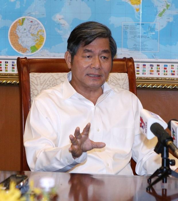 越共中央书记处决定对原计划与投资部部长裴光荣给予纪律处分 hinh anh 1