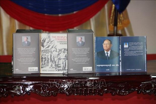 柬埔寨国会主席韩桑林回忆录一书正式问世 hinh anh 2
