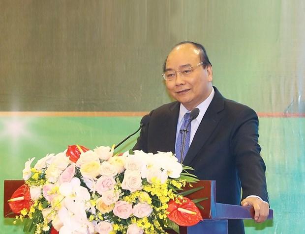 政府总理阮春福:需把单纯农业思维转变成为农业经济 hinh anh 1