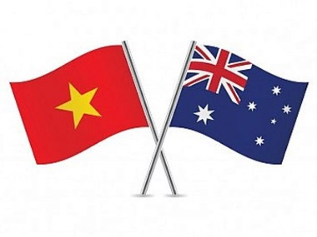 越南与澳大利亚建立防务关系20周年纪念仪式在河内举行 hinh anh 1