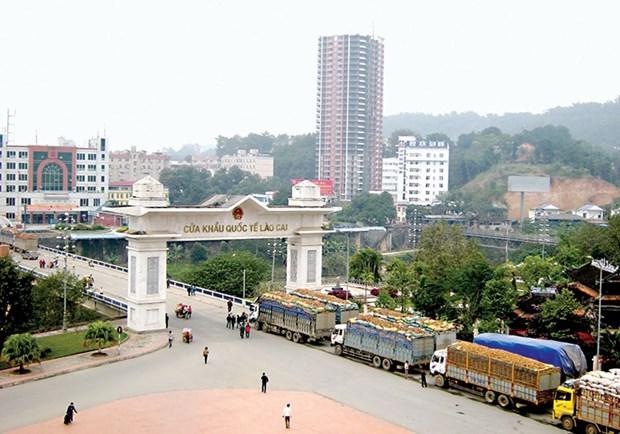 越南计划建设活跃并可持续发展的老街口岸经济区 hinh anh 1