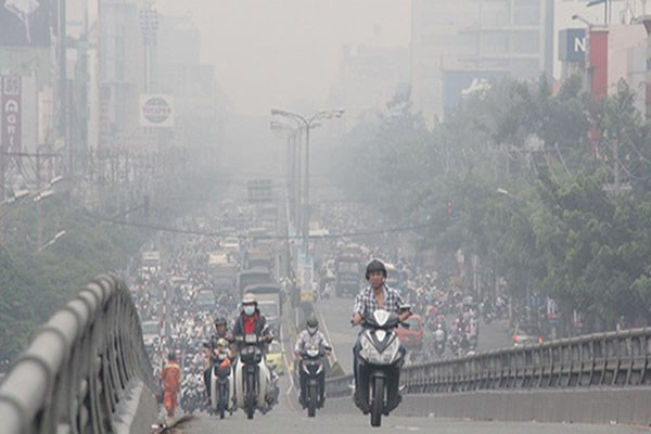 河内市推进落实污染减排工作力争改善空气质量 hinh anh 1