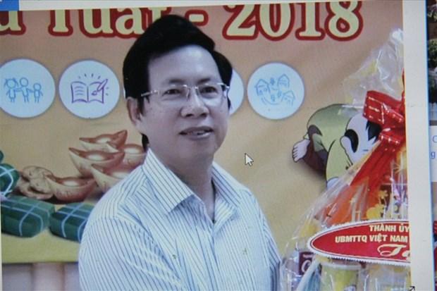 芽庄市人民委员会副主席黎辉全遭起诉 hinh anh 1