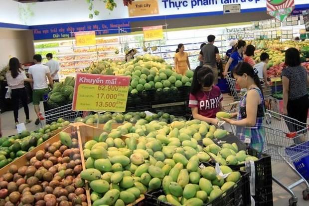 河内市11月份居民消费价格指数小幅下降 hinh anh 2