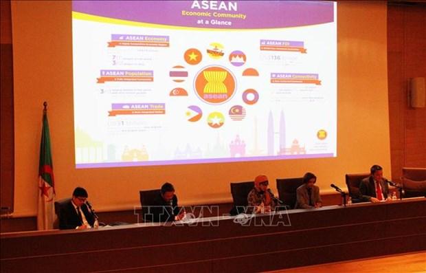 """题为""""统一、和平与繁荣""""的东盟研讨会在阿尔及利亚举行 hinh anh 2"""