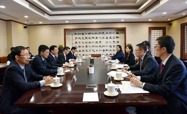 越南与中国加强金融合作 hinh anh 2