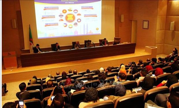 """题为""""统一、和平与繁荣""""的东盟研讨会在阿尔及利亚举行 hinh anh 1"""