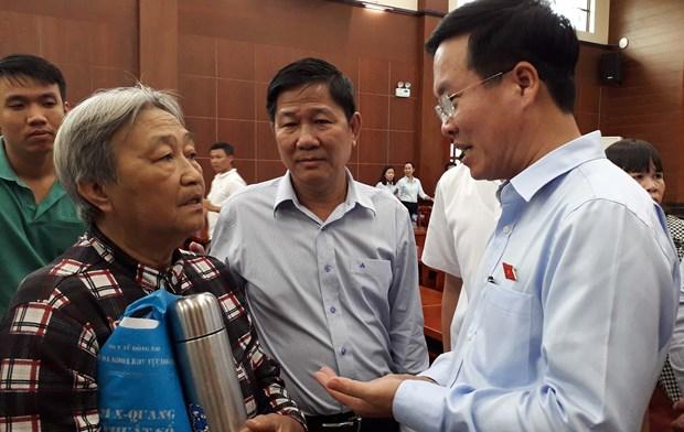 中央宣教部部长武文赏:地方政府应加强与人民的对话和沟通力度 hinh anh 1