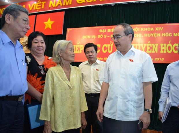 阮善仁:反腐工作关系到党和国家的生死存亡 hinh anh 1