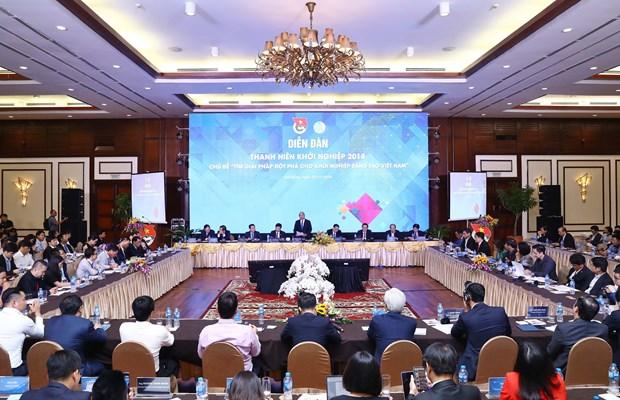 政府总理阮春福:政府将为青年创新创业创造最好的条件 hinh anh 2