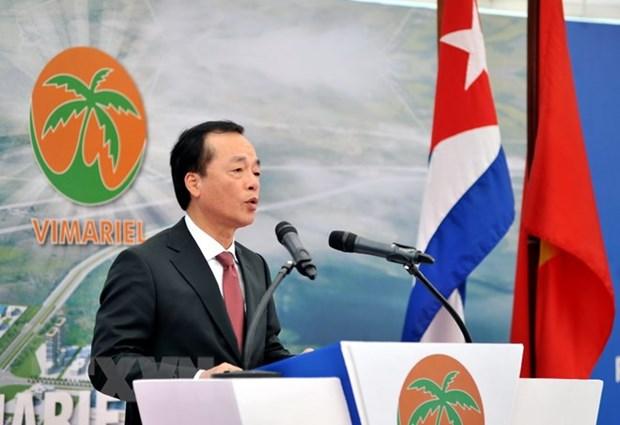 越南Viglacera集团在古巴 古巴马里埃尔发展特区动工兴建首家工业区 hinh anh 1
