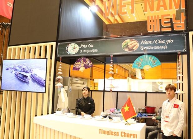 越南参加在韩国举行的2018年东盟美食节 hinh anh 1