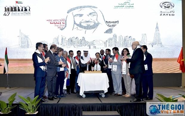 阿联酋国庆庆祝活动在河内举行 hinh anh 1