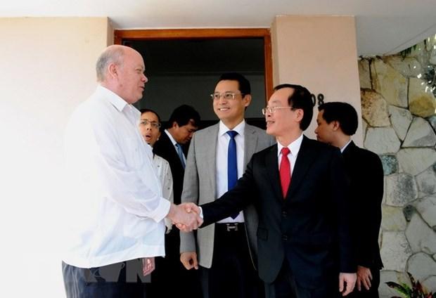越古两国实现经贸合作关系多样化 hinh anh 1