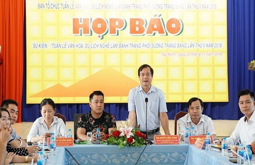 """西宁省""""展旁米皮""""制作业旅游文化周活动将于12月底举行 hinh anh 1"""