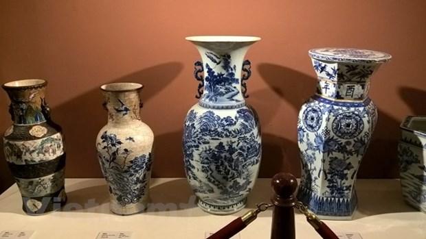 胡志明市展示130多件珍贵文物 hinh anh 3