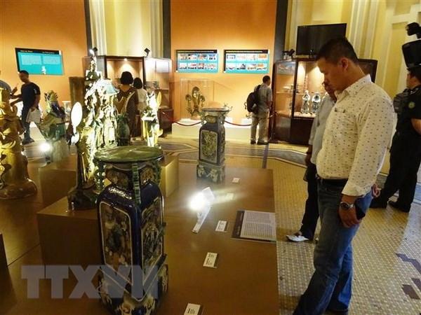 胡志明市展示130多件珍贵文物 hinh anh 2