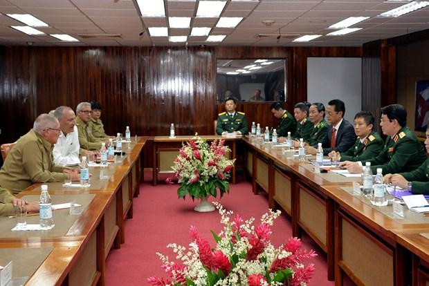 加强越南与古巴两党、两国政府和武装力量的合作 hinh anh 4