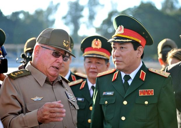 加强越南与古巴两党、两国政府和武装力量的合作 hinh anh 1