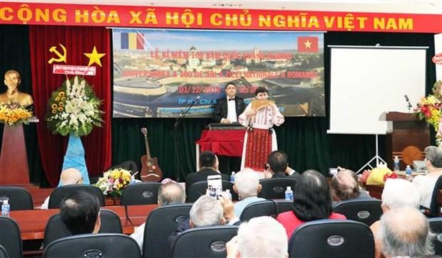 罗马尼亚国庆100周年纪念活动在胡志明市举行 hinh anh 1
