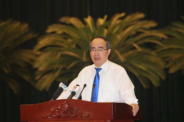 越共胡志明市第十届委员会第22次全体会议落幕 hinh anh 1