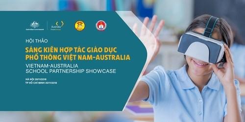越南与澳大利亚进一步加强普通教育合作力度 hinh anh 1