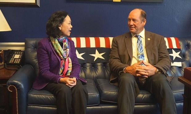 美国议员:美国愿与越南加强全面合作 hinh anh 1