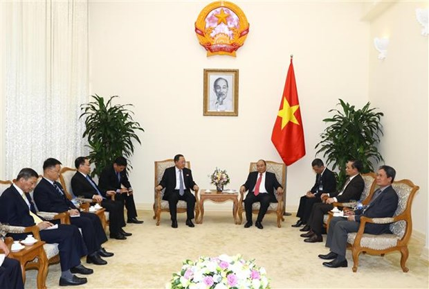 越南政府总理阮春福会见朝鲜外交部长李勇浩 hinh anh 2