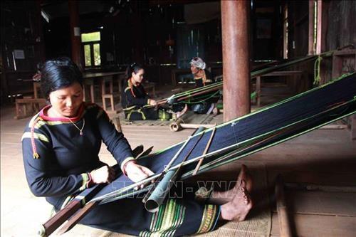 首届越南织锦文化节将于12月底举行 hinh anh 1