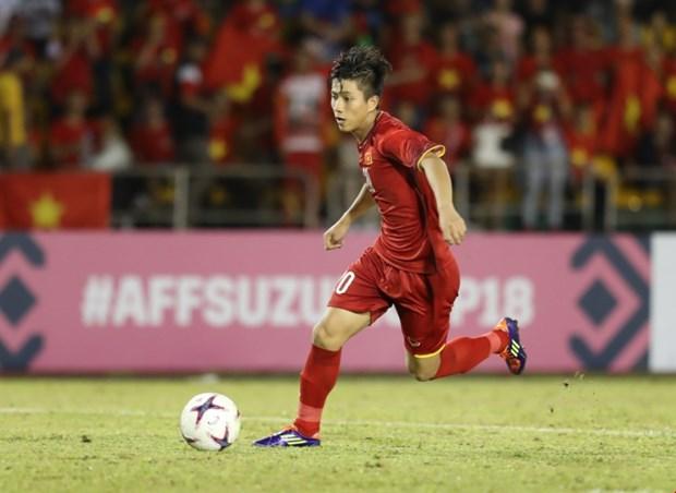 AFF Suzuki Cup 2018:越南球队客场完胜菲律宾球队 为进入决赛铺平道路 hinh anh 3