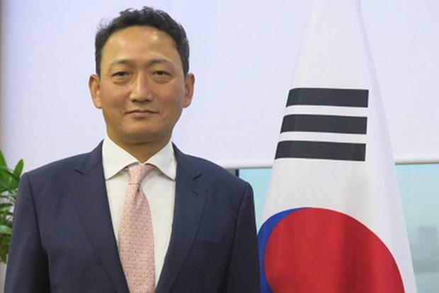 韩国驻越南大使:希望韩国和越南成为经济盟友 hinh anh 1