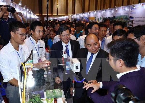 越南2018年国家创新创业日活动落下帷幕 hinh anh 1